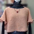 生徒作品 棒針編みセーター