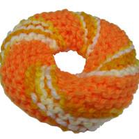 ドーナツ型アクリルたわしの編み方