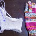 棒針で手袋の親指を編むコツ