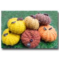 ハロウィン手編みかぼちゃ